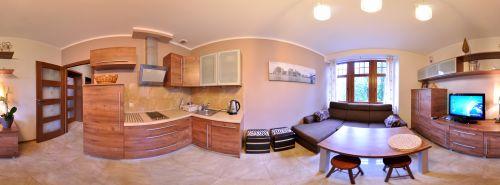 Panorama Willa Józefina  Apartament Styl  Salon + Kuchnia w Szklarskiej -> Kuchnia Gazowo Elektryczna Ranking